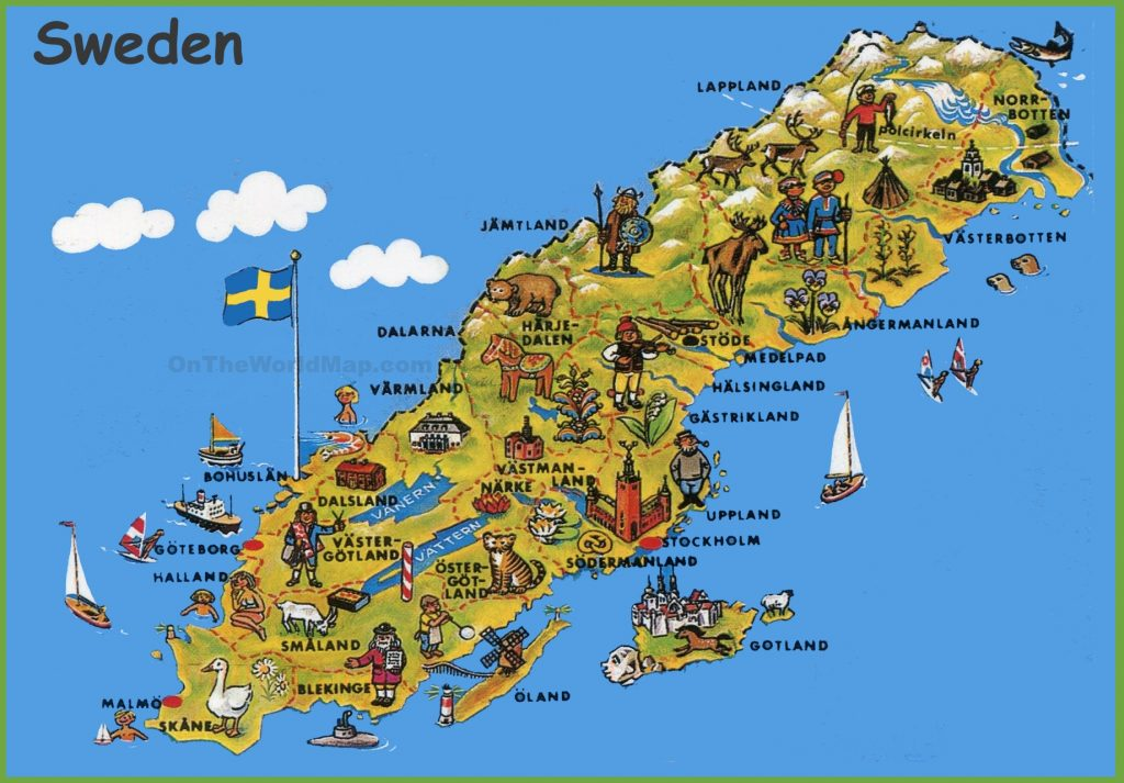 sweden-tourist-map